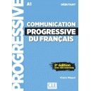 Communication progressive du français débutant + CD NC